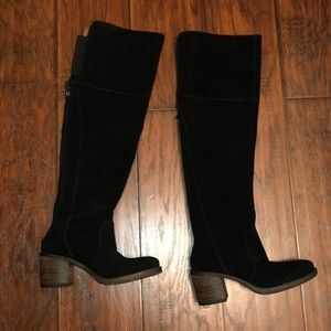 Lucky over the knee boots